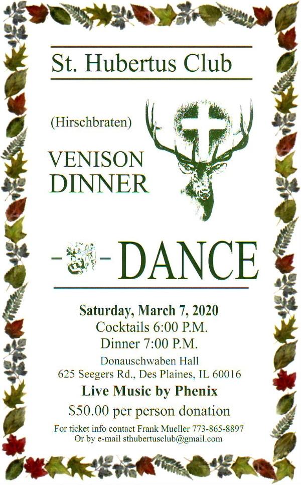 St. Hubertus Jaegerball @ Donauschwaben Center | Des Plaines | Illinois | United States