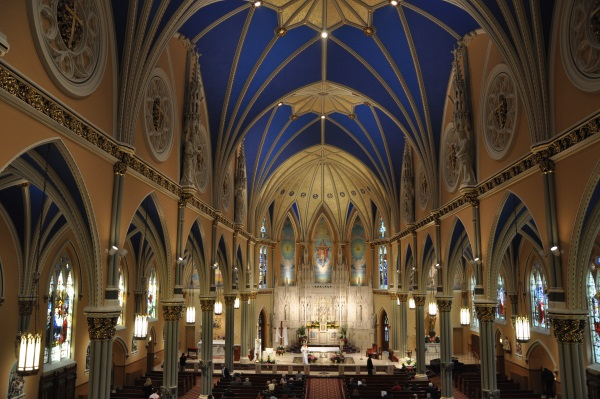German Catholic Mass @ St Alphonsus Church | Chicago | Illinois | United States