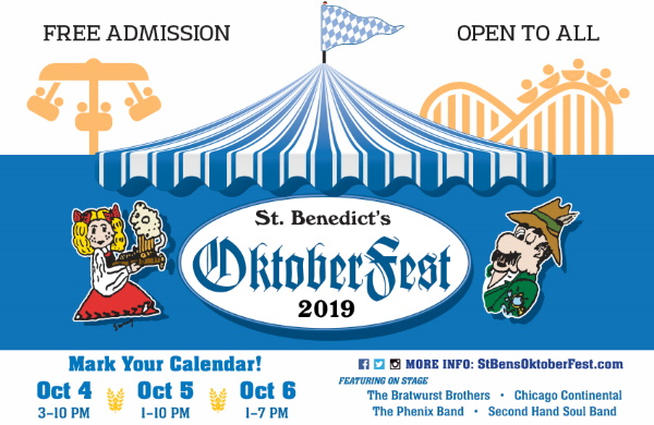 St. Benedict's OktoberFest @ 2215 W Irving Pk Rd. | Chicago | Illinois | United States