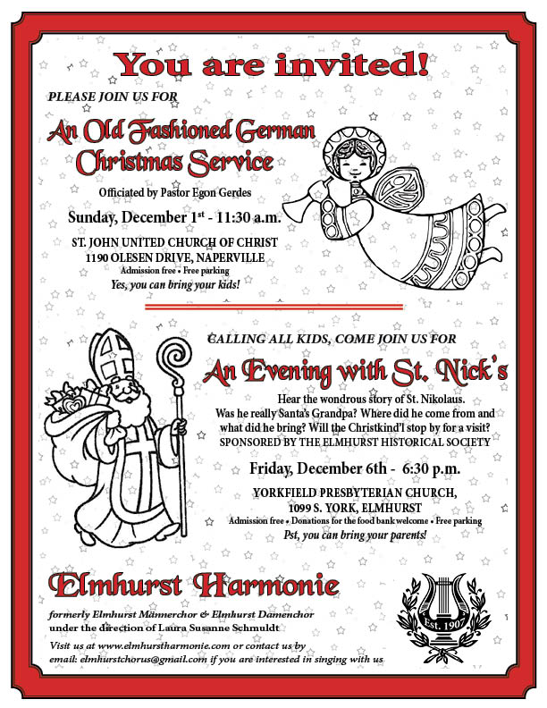 An Evening with St. Nick @ Yorkfield Presbyterian Church | Elmhurst | Illinois | United States