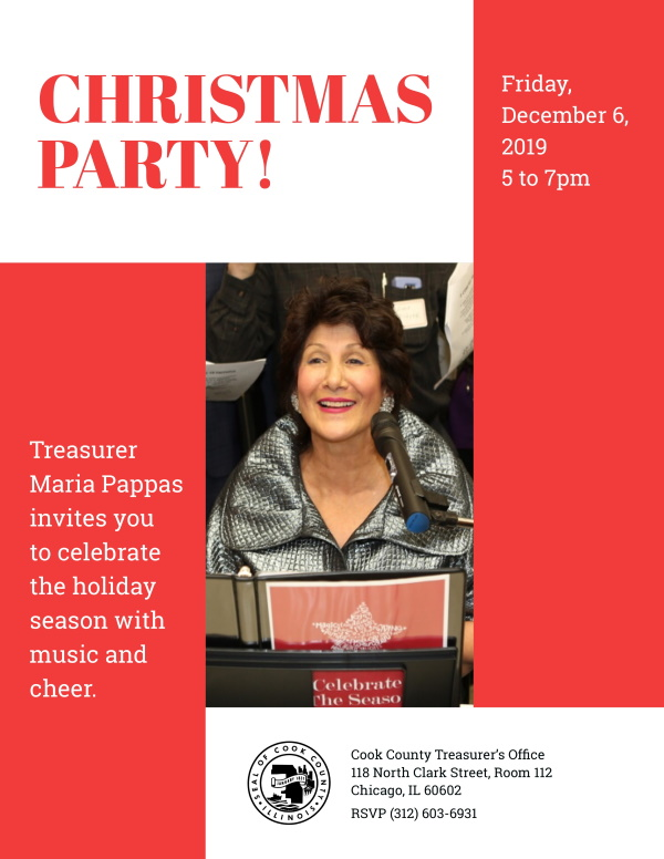 Maria Pappas Christmas Party @ Cook County Treasurer's Office | Chicago | Illinois | United States